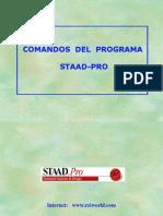 STAAD - Comandos 1