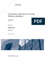 A Systematic Approach for Assessing Workforce Readiness