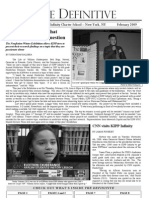 The Definitive Student Newspaper - February 2009
