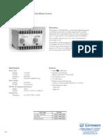 InertiaDynamics Controls D2750 Specsheet