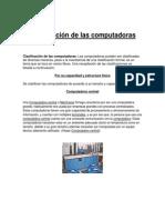 Clasificación de Las Computadoras margarita