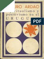 Espiritualismo Positivismo Uruguay