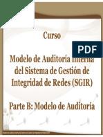 Curso Modelo Auditoría SGIR 05 Marzo 2013 Modelo Auditoria Interna