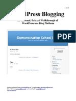 How to Setup Word Press