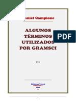 Algunos Terminos Utilizados Por Gramsci