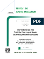Interpretaci+¦n Test Gest+íltico Visomotor Bender - Heredia y Ancona - Santaella Hidalgo - Somarriba Rocha - TAD - 5-¦ sem