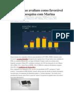 Campanhas avaliam como favorável primeira pesquisa com Marina.docx