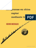226580089 Michaux Ideogramas en China Captar Mediante Trazos