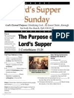 Ls Lords Supper 1 Cor 11_26 Handout Rev 082414