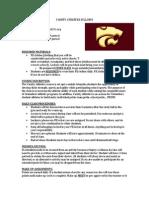 varsity athletics syllabus