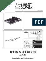 R448 Manual From Macfarlane Generators