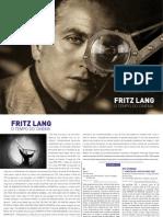 Fritz Lang o tempo do cinema