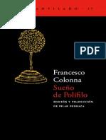 Colonna Francesco - Sueño de Polifilo