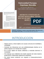 Antibiotic Estrategia