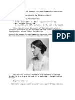 three books by virginia woolf