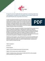Propuesta Para La Realización de Un Informe Anual de Producción y Performance Científico de La PUCP