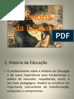 História Da Educação Slide