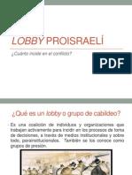 Valeria Puga Lobby proisraelí