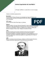 Acontecimientos Importantes de José Martir, BENITO JUAREZ Y JUSTO RUFINO BARRIOS