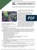 Romancing the StoneDigging Deep Gardening With Cynthia Brian