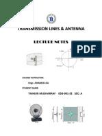 Antenna Theory Notes