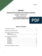 Score Study & Lit Complete Notes