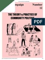 The Theory & Practice of Community Politics