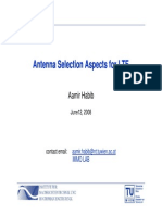 LTE Antenna Selection UnivVienna 2008