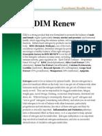 DIM Renew Fact Sheet