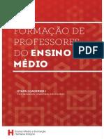 Formação de Professores Do Ensino Médio - Caderno 1