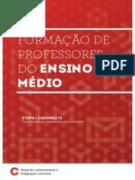 Formação de Professores Do Ensino Médio - Caderno 4
