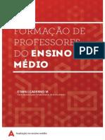 Formação de Professores Do Ensino Médio - Caderno 6