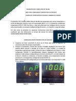 Manual Corto de Instrucciones Pirometro Rkc Cd901