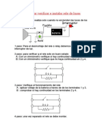 Desmontar Verificar e Instalar Rele de Luces