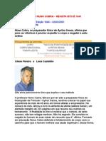 Entrevista com NUNO COBRA - Rev IstoÉ 1648 - Educação Física - Preparador físico e mental