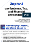 The Business, Tax, The Business, Tax, And Financial and Financial