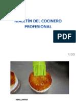 Maletin Del Cocinero Profesional Rosy