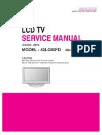 LG 42LG50FD Service Manual