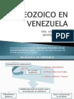 Paleozoico en Venezuela