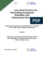 World Class Reliability Performance