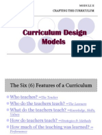 Approaches to Curriculum Design 2