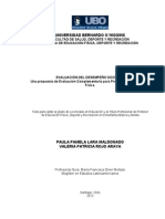 Lara Pula - Evaluacion Del Desempeño Docente