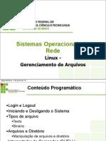 Linux 02 Gerenciamento de Arquivos