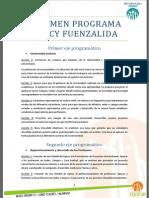 Resumen Programa Darcy Fuenzalida