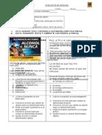 evaluacion septimo 2