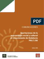 Aportaciones de La Antropología Social y Cultural Al Conocimiento de Andalucía