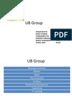 Ub Group Strategy
