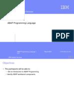 ABAP Programming Language