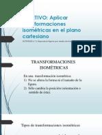 Transformaciones Isometricas en el plano cartesiano (8° años Básicos)