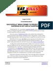 "18Aug14 ""Dog patrols"" press release by HeatKills.Org"